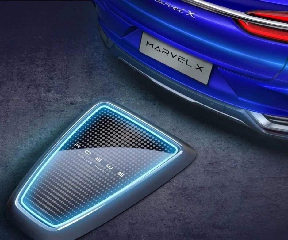 五个全球第一带你全面解读荣威MARVAL X电动智能超跑SUV