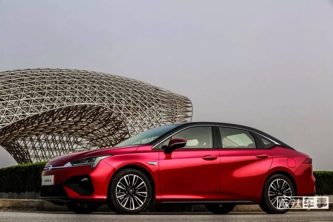 中高级智能轿车引领者广汽新能源Aion S正式上市售13.98万...