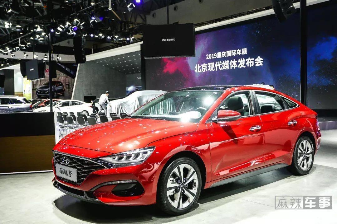 昂希诺纯电动和新一代ix25亮相,北京现代想要低调都难