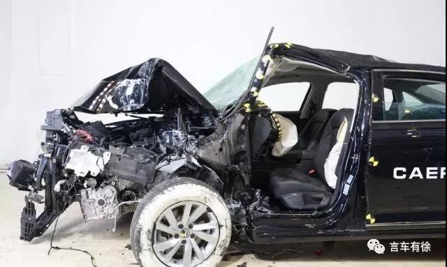 A柱断折气囊接不住脸,大众车啥时成了纸糊的?