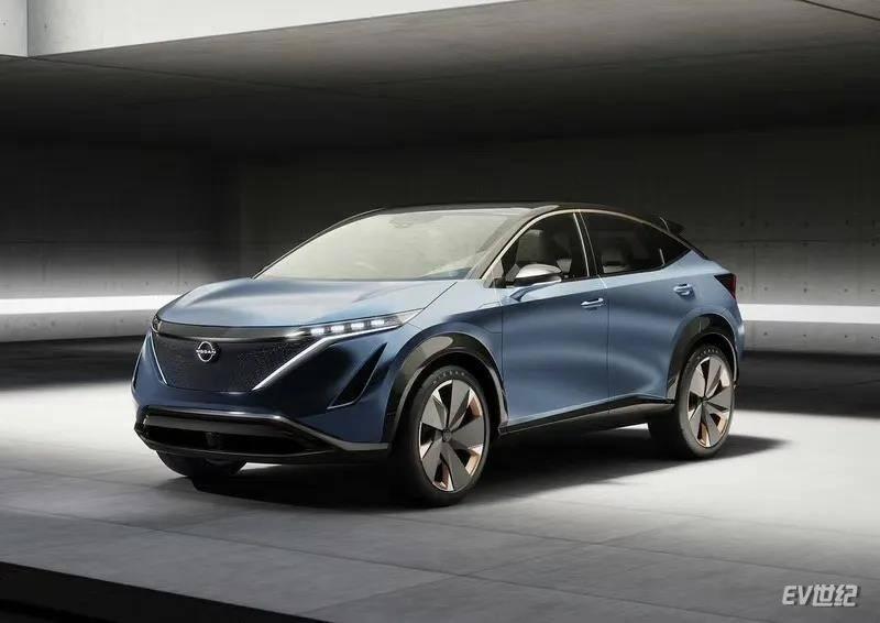 日产第二款电动汽车Ariya将于7月亮相,双电机+跨界造型
